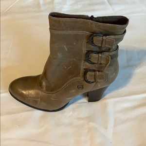 Born  Leather Booties  Size 81/2  Beautiful!!